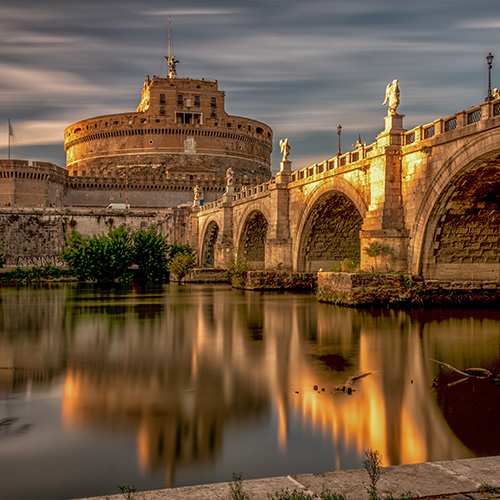 Pont Sant'Angelo in Rome